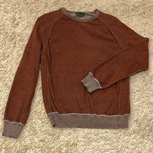 EUC Calvin Klein cotton crew sweater